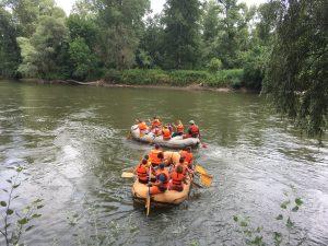 Evezés a Murán - a Murai Rafting Vízitúra Egyesület jóvoltából